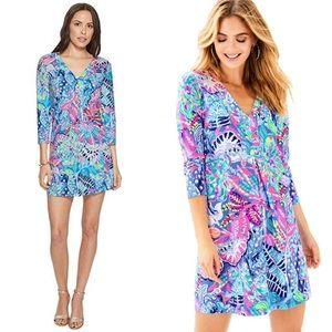 New Lilly Pulitzer Amina Fantasy Garden Dress XXS